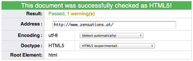 HTML5 Validation - you're doing it right!